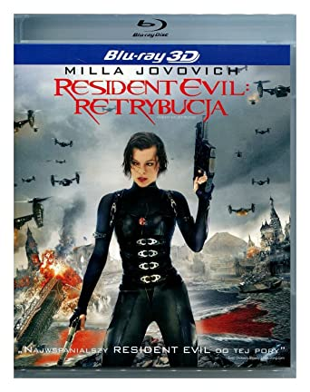 Resident Evil: Retribution Blu-Ray 3D Region Free IMPORT No hay ...