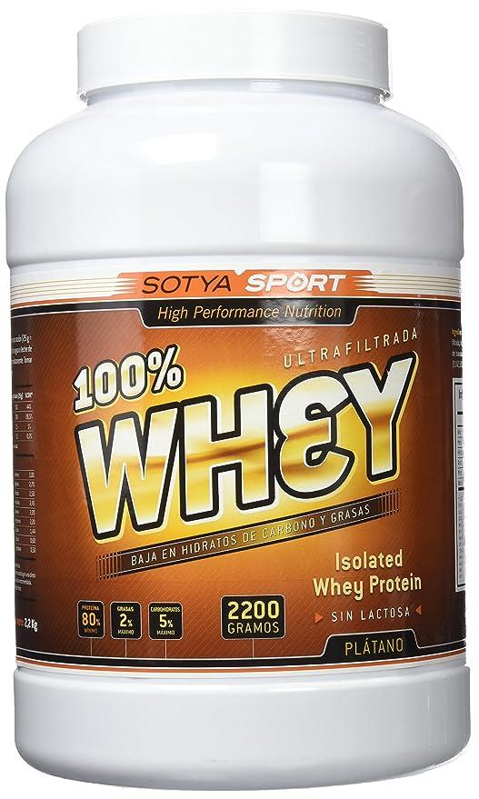 SOTYA Proteína Whey 100% Plátano con Yogurt 2.2 kg