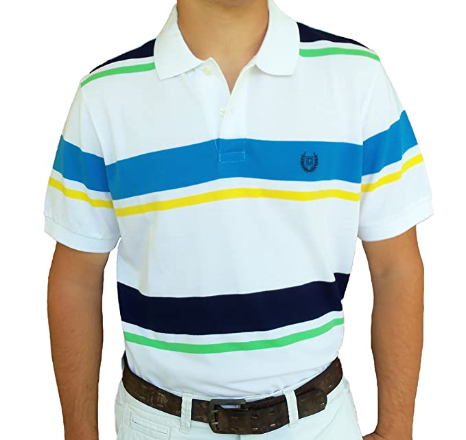 S S Pacific Bay Polo In Pink Coral By Chaps Amazon Ca Clothing