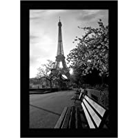 Americanflat 8x12 Picture Frame in Black with Shatter Resistant Glass - Horizontal and Vertical Formats for Wall and…