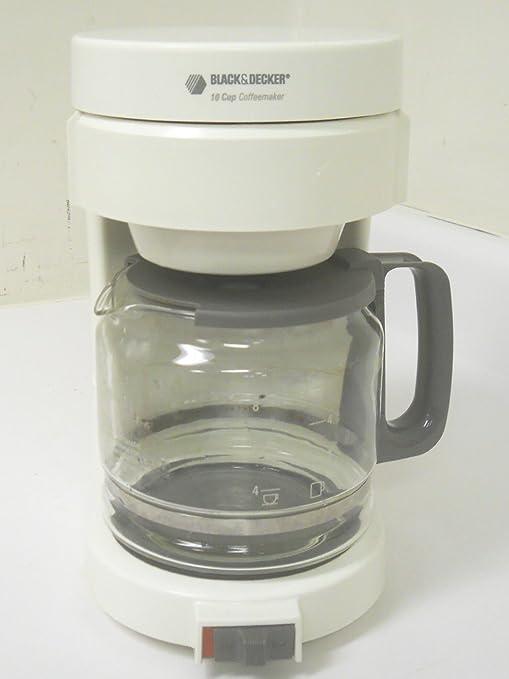 Amazon.com: black & decker dcm200 10 tazas cafetera de goteo ...