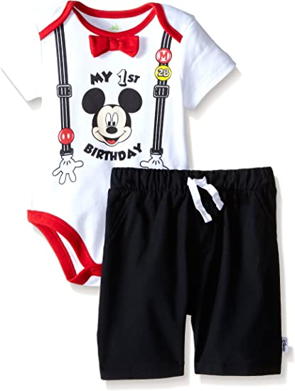 Mickey Mouse Top and Bottom Jogging Set