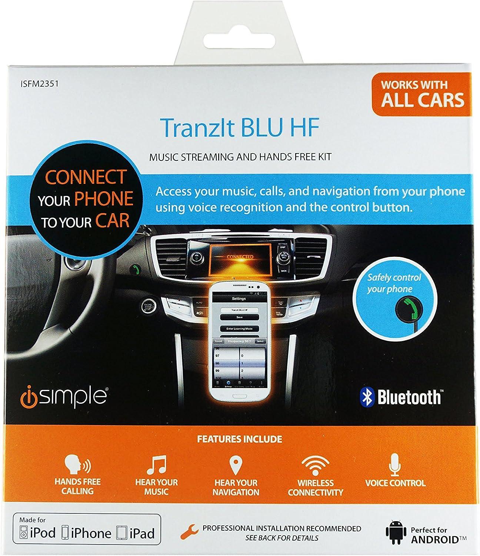 Universal Auto SUV Bluetooth Radio Adapter Handsfree Calling FM Transmitter Kit