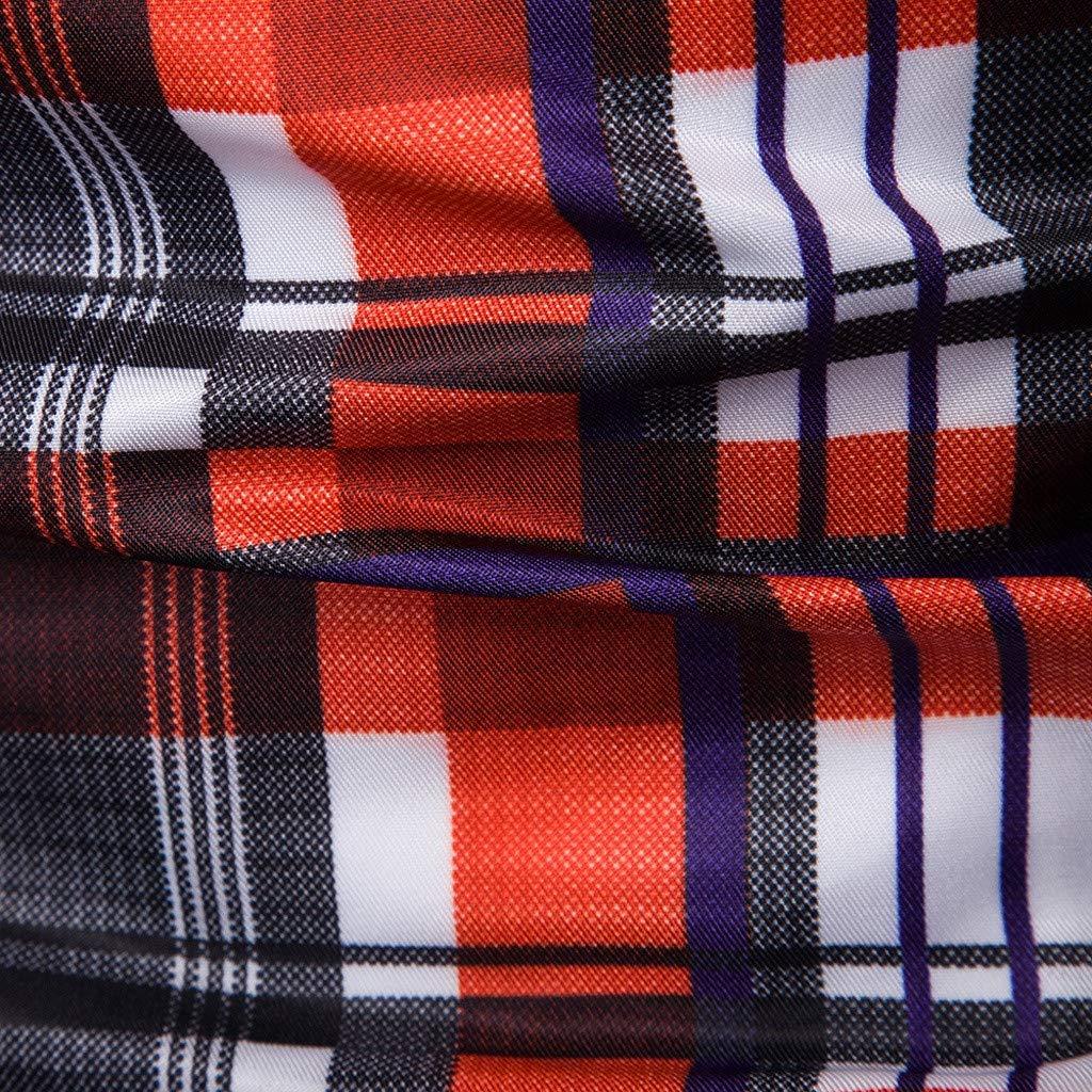 Ciyoon Mens Printed Dress Shirt Slim Fit Casual Fashion Luxury Printed Shirt Long Sleeve Button Down Shirts