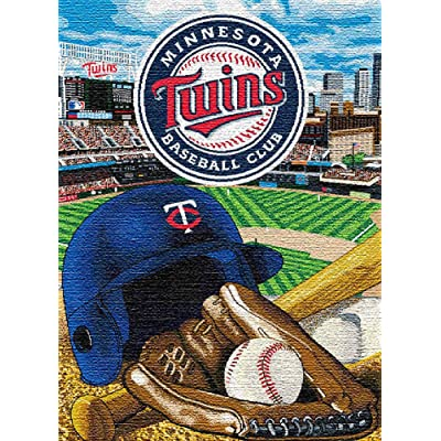 MAXFYOU Wood Puzzle 500 Piece - Jigsaw Puzzle for Adult and Kids - American Baseball Teams Wooden Puzzle.3ML-PT05-G17: Toys & Games