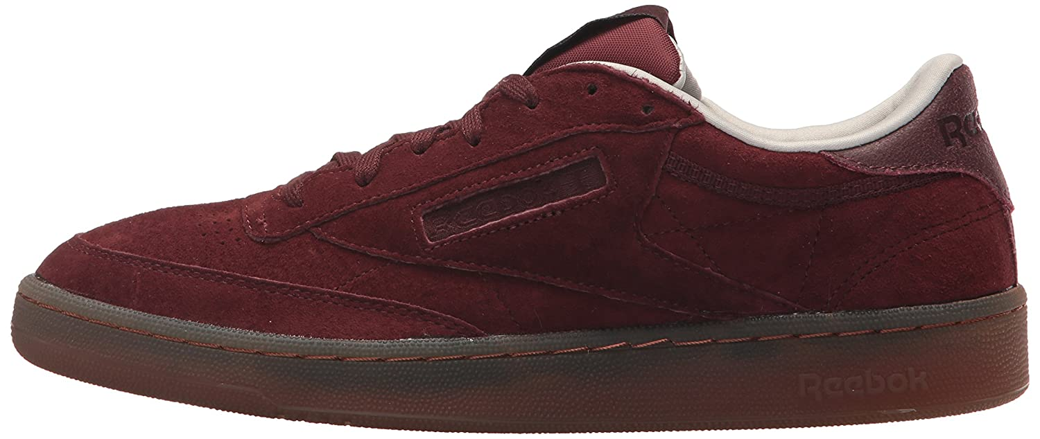 Reebok Men's Club C 85 G Sneaker, Burnt SiennaSand Stonec