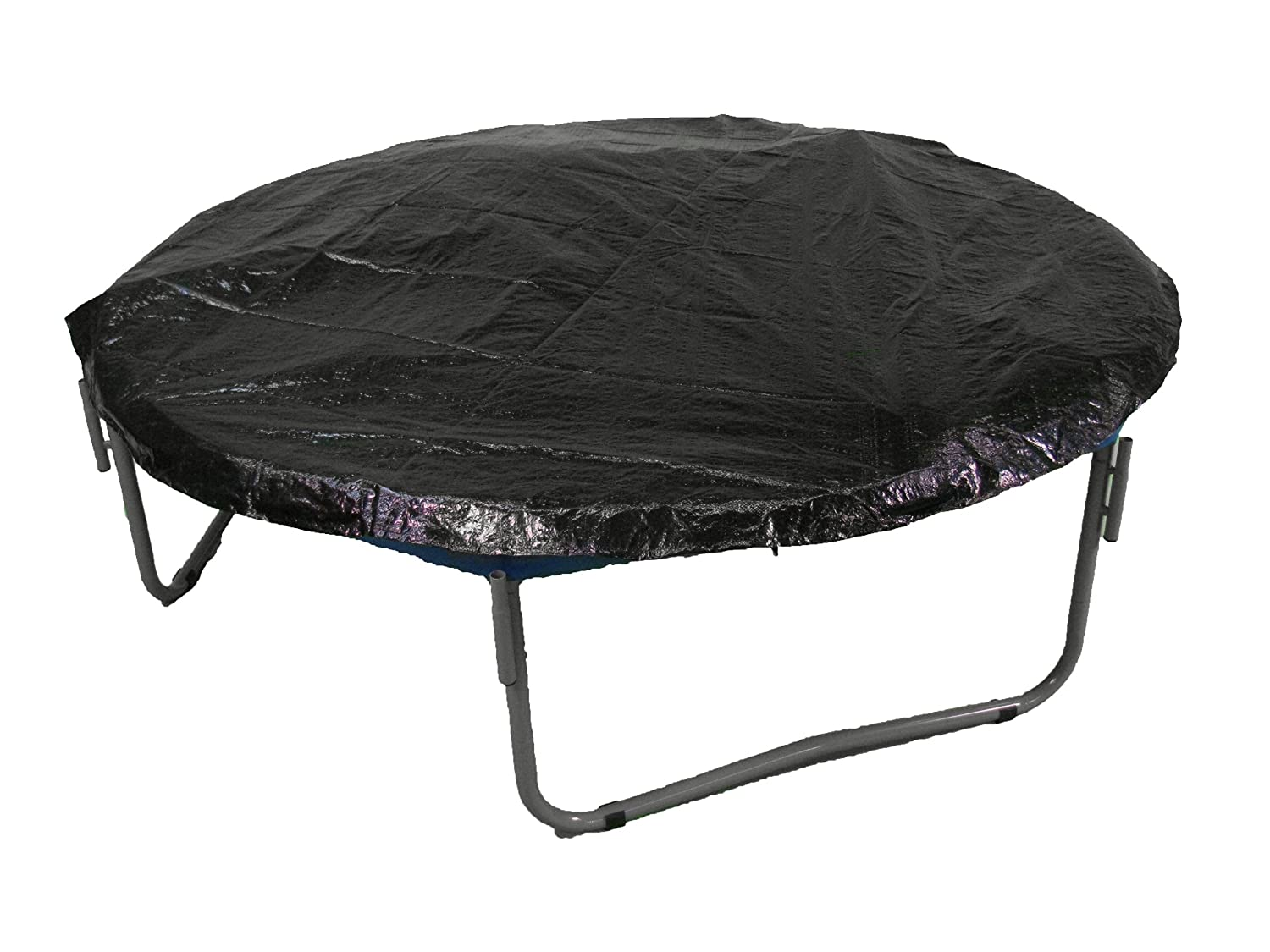 Upper Bounce Black Color 14' Trampoline Weather Protective Cover Frame Rain Shield Protection Fits 14FT Round Trampoline Frames
