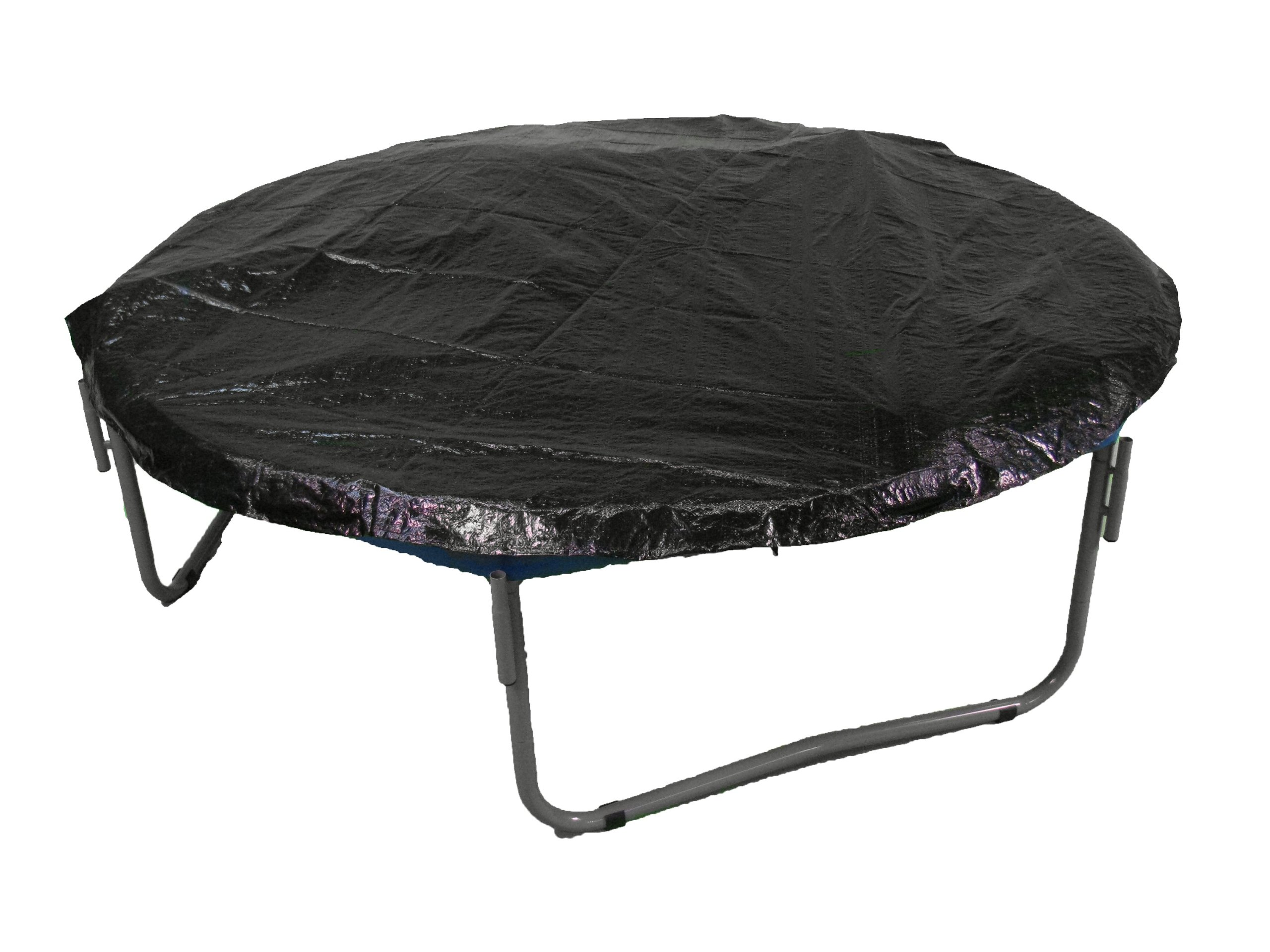 Upper Bounce 10' Trampoline Protection Cover (Weather & Rain Cover) Fits for 10 FT. Round Trampoline Frames - Black by Upper Bounce