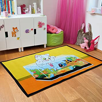 Amazon Com New Adorable Kids Area Rugs Soft Kid Rug For Playroom