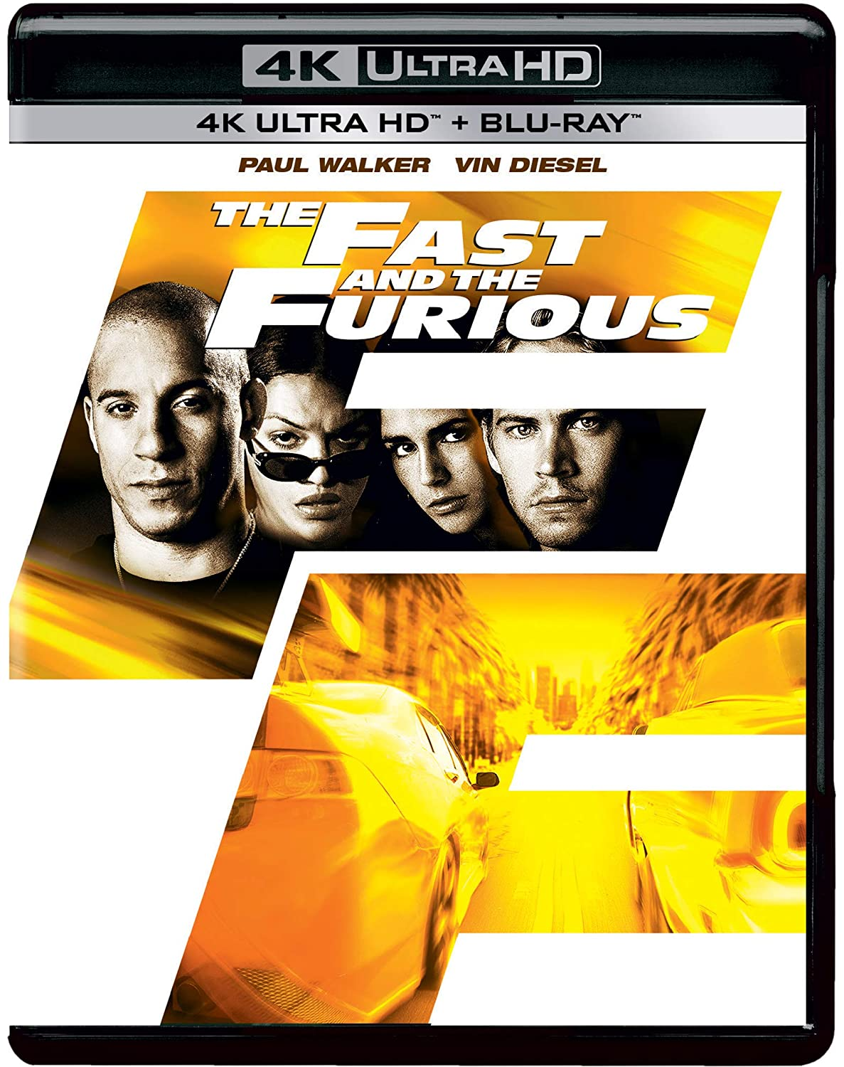Fast Furious 1 The Fast And The Furious 2001 4k Uhd Hd 2 Disc Amazon In Paul Walker Vin Diesel Michelle Rodriguez Jordana Brewster Rick Yune Chad Lindberg Johnny Strong Rob Cohen
