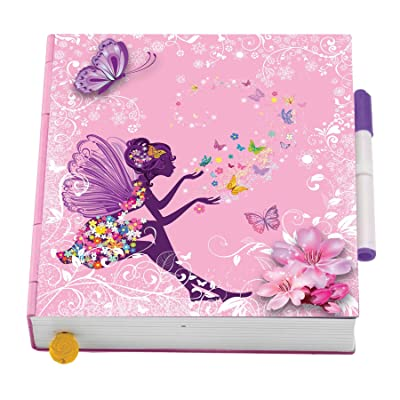 Flutterbye Surprise Butterfly Diary - Pink: Toys & Games