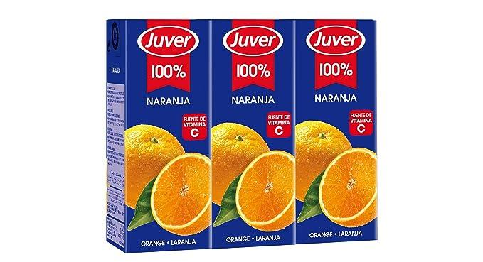 Zumo De Naranja 3X200Ml Juver