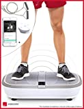 TEST WINNER*: Sportstech professional vibration plate VP300 with 3D Spiral Vibration Technology +Bluetooth A2DP music,huge tread, 2 powerful engines +unrivaled design +training tapes +remote control