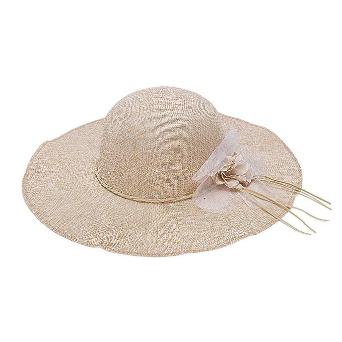 Cappello da spiaggia Cappello da spiaggia Cappello a tesa larga Cappello da donna Cappello estivo da spiaggia Cappello estivo da spiaggia Cappello protettivo UV per cappelli da uomo e da donna