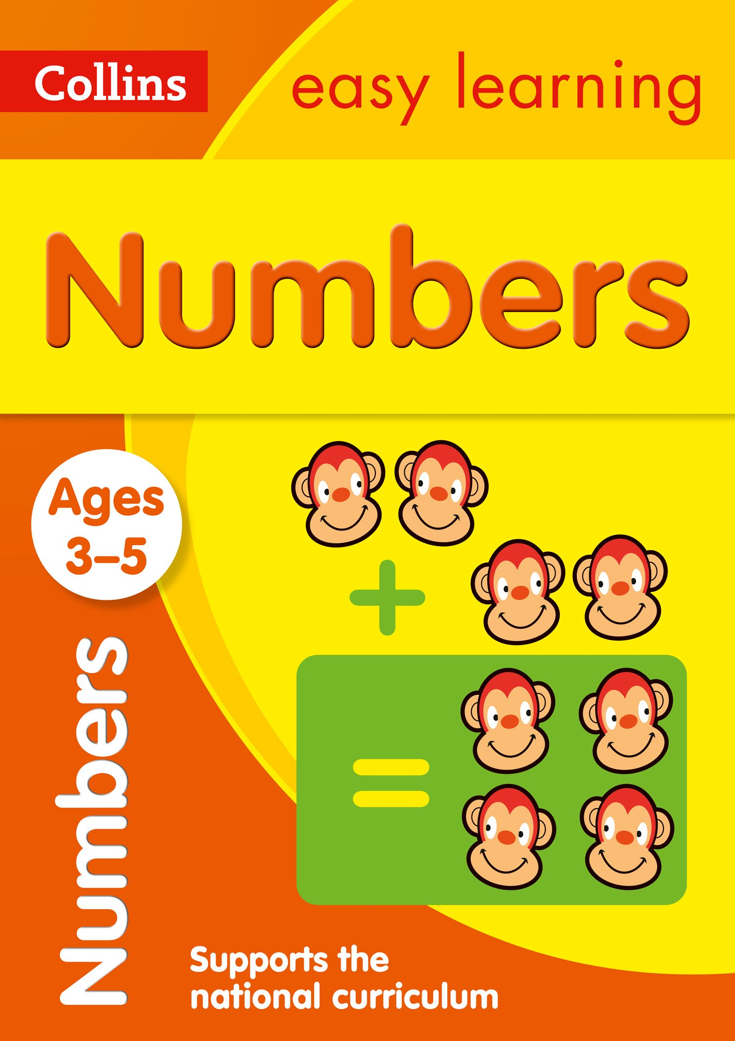 numbers ages 3 5 collins easy learning preschool collins uk