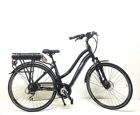 Lombardo Bici Elettrica 28 E Bike Viterbo Donna Blackgreymat