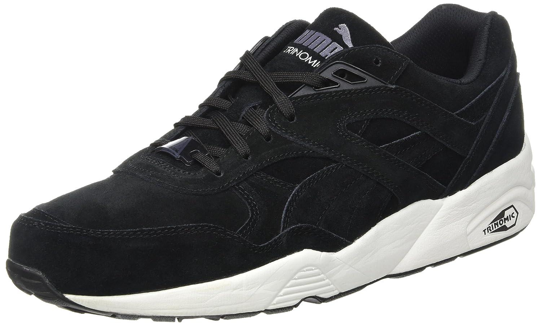 Puma Unisex-Erwachsene R698 Allover Sneaker  40 EU|Schwarz - Noir (Black/White/Black)
