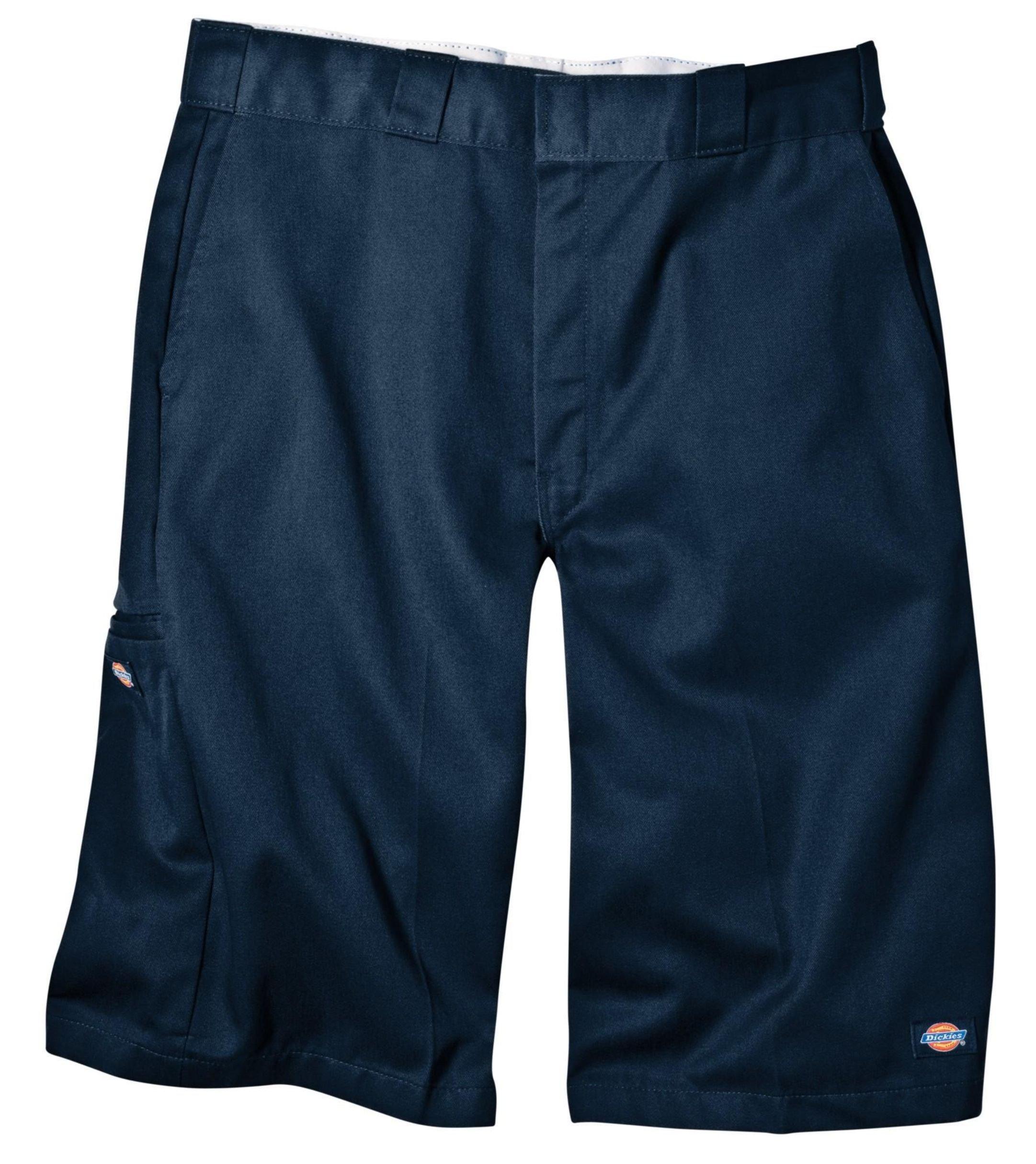 Dickies Men's 13 Inch Loose Fit Multi-Pocket Work Short, Navy, 44
