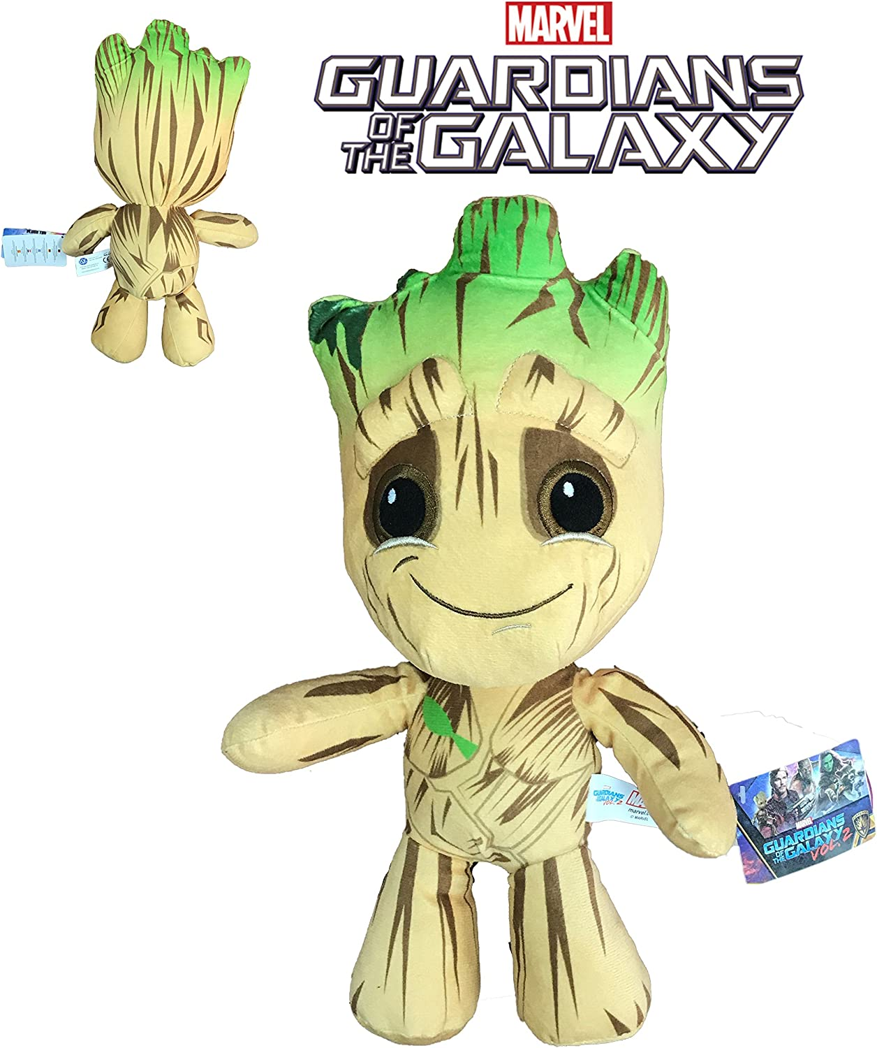 Marvel Guardianes de la Galaxia - Peluche Groot 33cm Calidad super soft