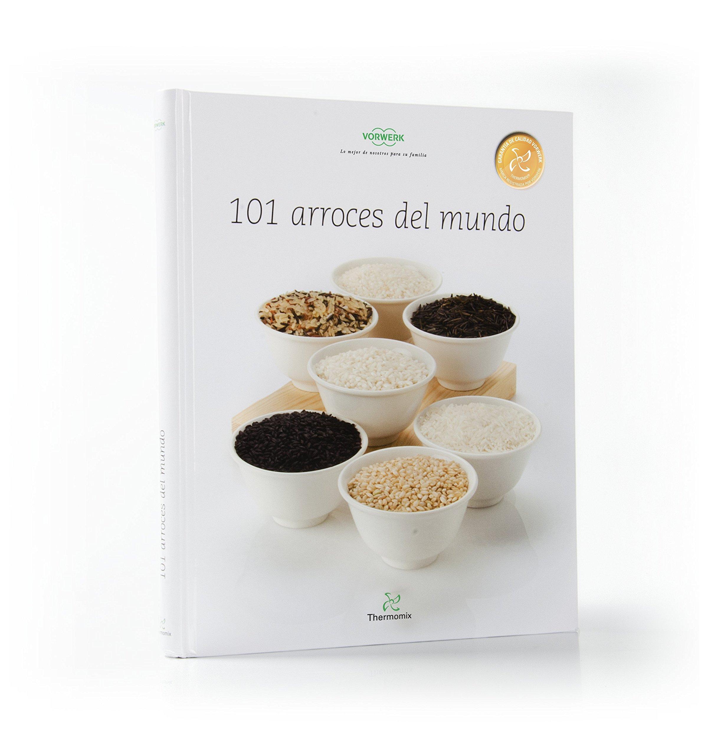 101 Arroces Del Mundo Amazones Vorwerk Thermomix Libros