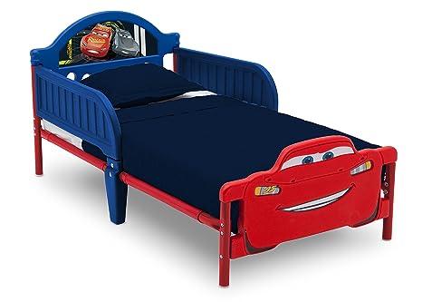 Letti Per Bambini Con Sponde.Delta Children Letto Per Bambini Con Sponde Disney Cars 3d Amazon