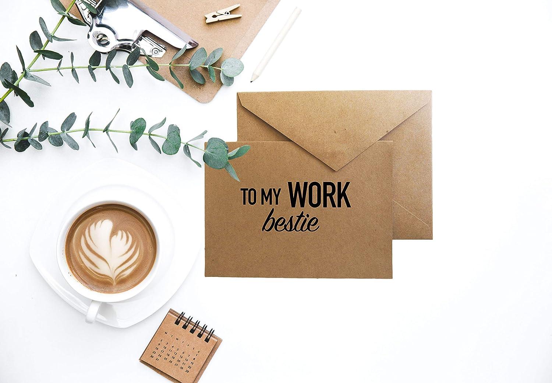 Blank Greeting Card Handmade Greeting Card Funny Card for Coworker Greeting Card Coffee Card for Best Friend