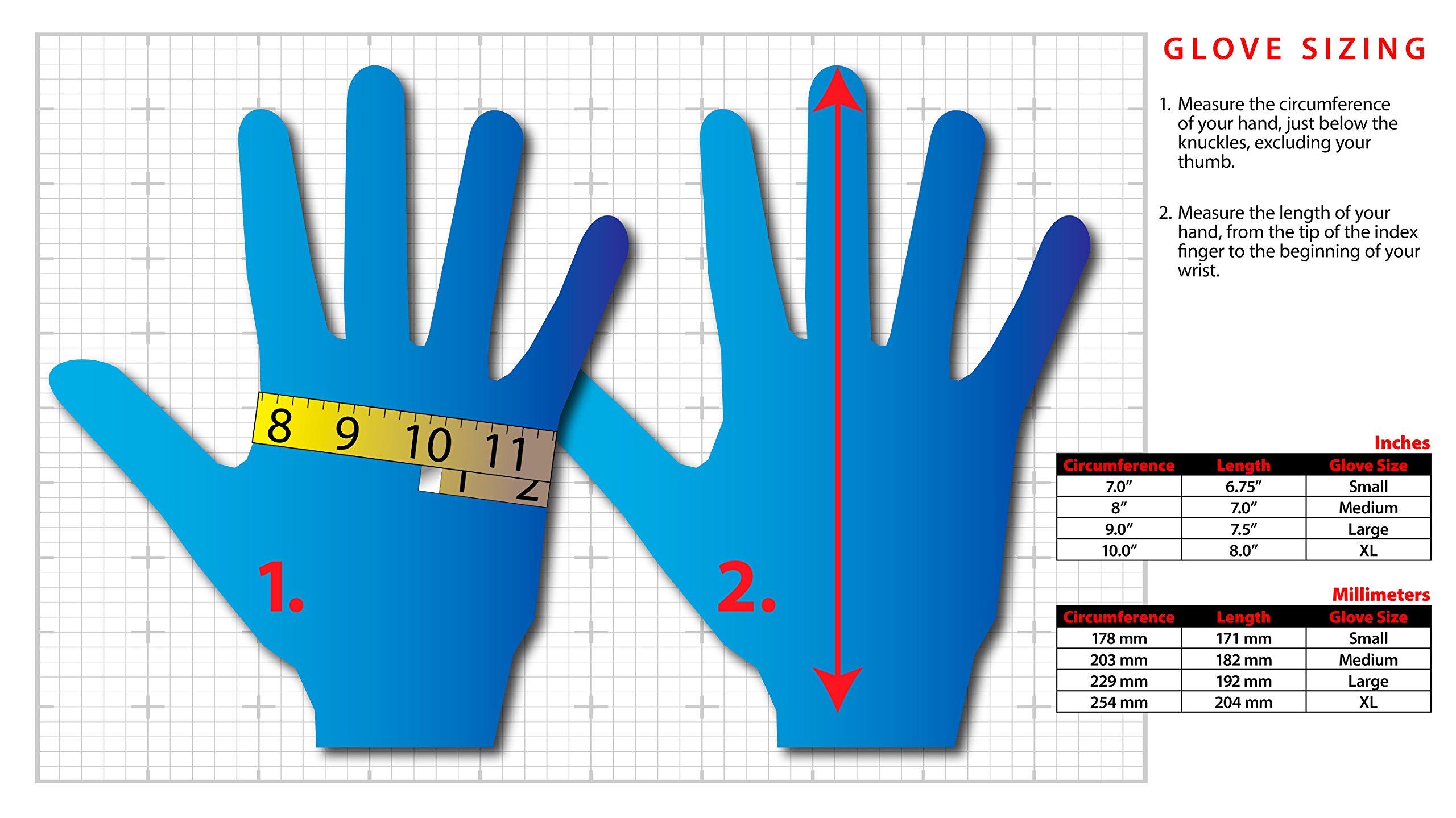 Lakeland 7-2506 SpiderGrip Lightweight Polyester Latex Dipped Glove, Work, Medium, Black (12 Pair)