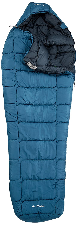 VAUDE Sioux 800 S Syn Saco de Dormir, Mujer, Azul (Baltic Sea), Talla única: Amazon.es: Deportes y aire libre