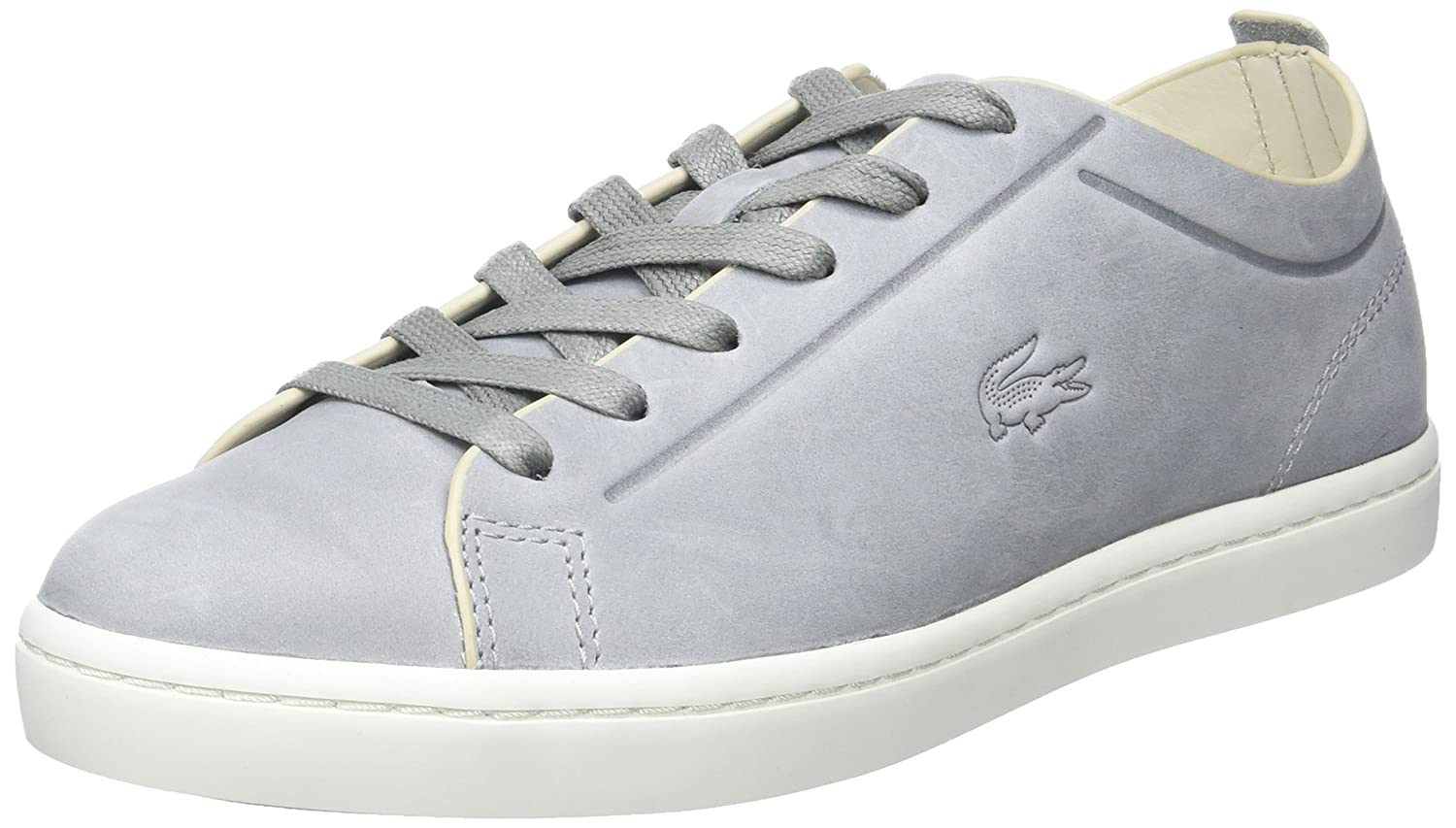 Lacoste Straightset 117 2 Caw Lt Gry amazon-shoes grigio