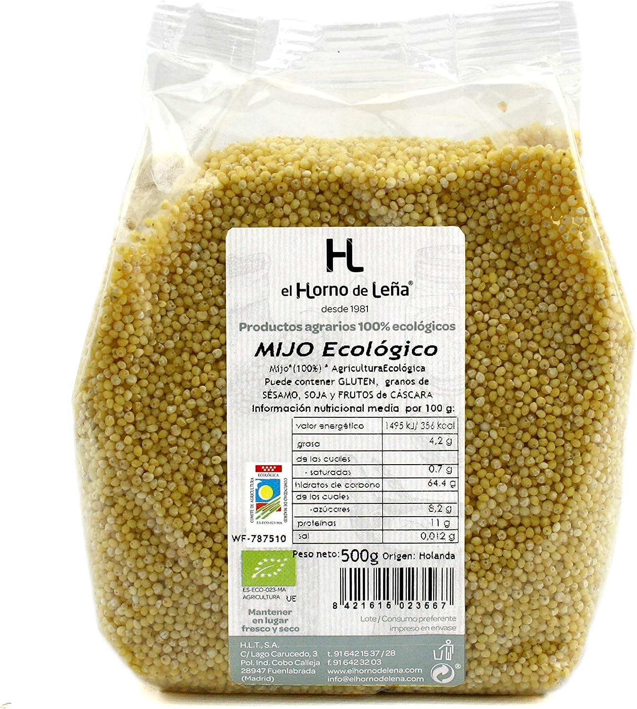 Horno de Leña Mijo Eco, 500 g, Pack de 1: Amazon.es: Alimentación ...