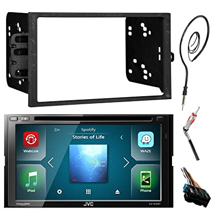 amazon com jvc kwv420bt 7 touch screen bluetooth cd dvd car stereo rh amazon com