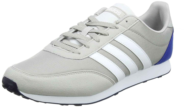 Adidas V Racer 2.0, Zapatillas de Deporte para Hombre 44 2/3 EU Gris (Grey Two F17/Ftwr White/Collegiate Royal)