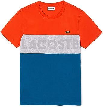 Lacoste Sport - Camiseta Hombre - Th8426: Amazon.es: Ropa y accesorios