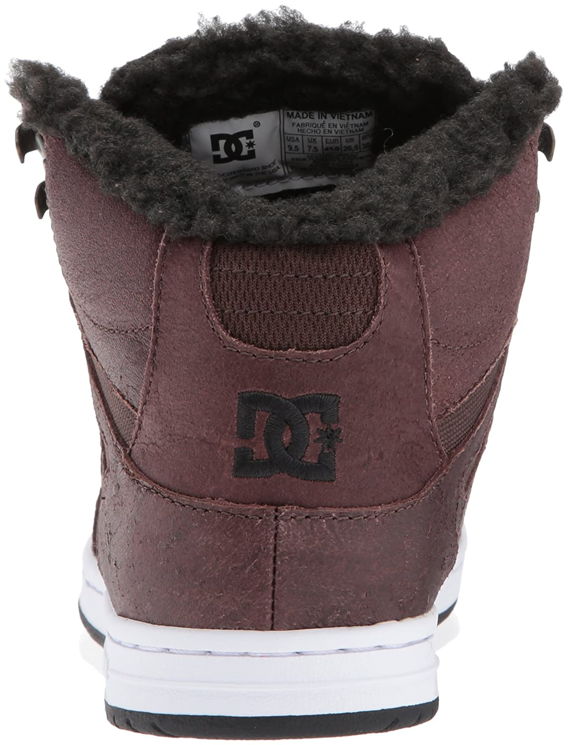 quality design 0c734 66ac7 Zapato de skate Wnt High rebote DC para mujer Marrón  Chocol