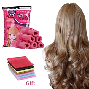 Hair Rollers Curlers for Long Hair, Foam Sponge Hair Rollers No Heat,Soft Hair Flexible Hair Curlers,Hair Styling DIY Tool, Pillow Soft Rollers,Hair Tools for Natural Hair By foxsezy