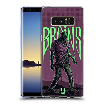 Head Case Designs Pose Zombies Soft Gel Case Compatible for ...