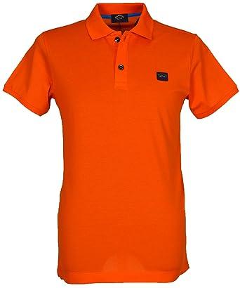 PAUL & SHARK - Polo - Polo - Manga Corta - para Hombre Naranja ...