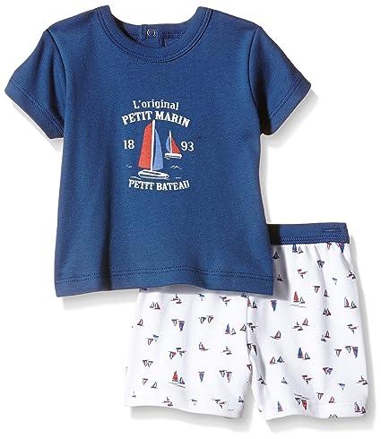 cc04f72b6496 petit bateau Baby boy Summer pjs