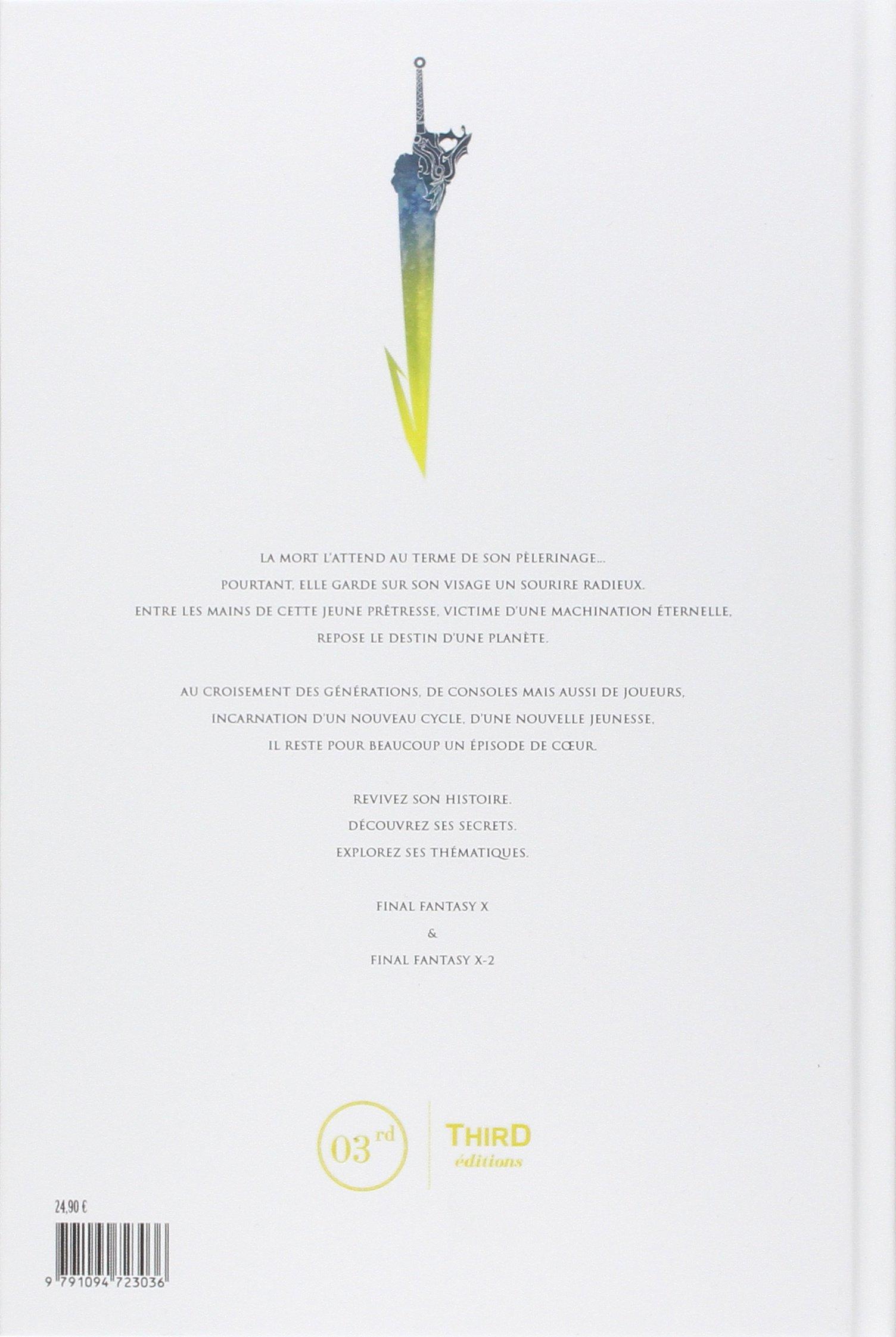 La Legende Final Fantasy X Damien Mecheri 9791094723036