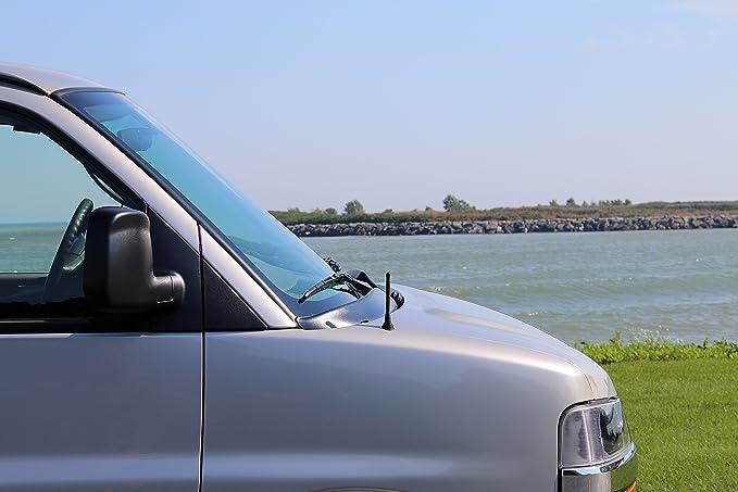 "1997-2006 Hyundai Tiburon FITS ALL-TERRAIN 17/"" RUBBER ANTENNA MAST"