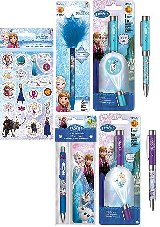 Amazon.com: Disneys Frozen - Set de regalo de escritura ...