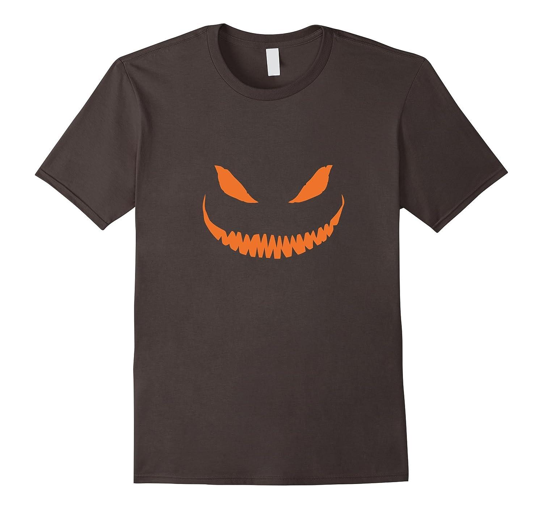Halloween T-Shirt Jack O' Lantern Pumpkin Face-Veotee