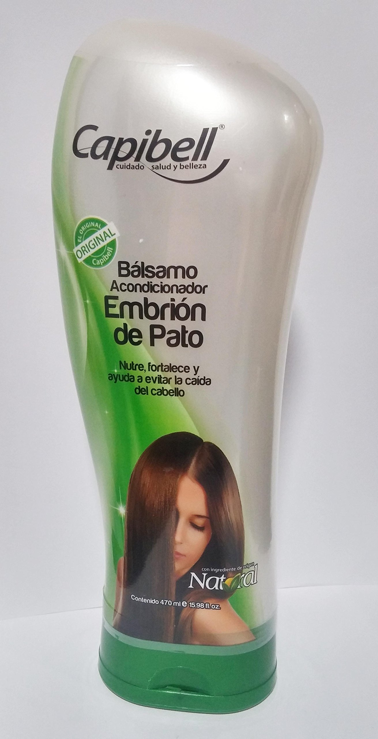 Capibell Balsamo Acondicionador Embrion de Pato 470ml 15.98 fl. oz.