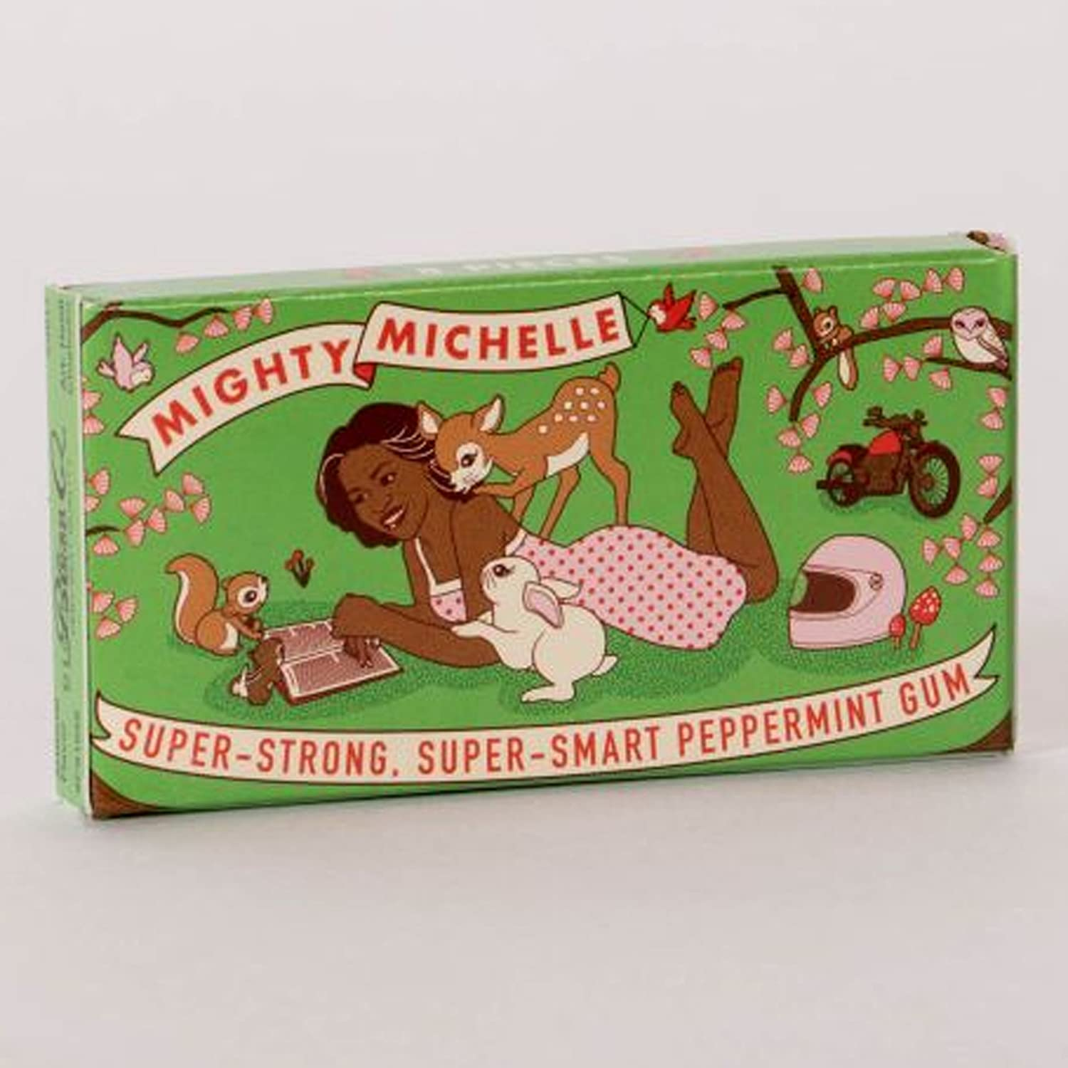 Amazon.com   BLue Q Mighty Michelle Obama Chewing Gum   Grocery   Gourmet  Food 0667ef92e7dd9