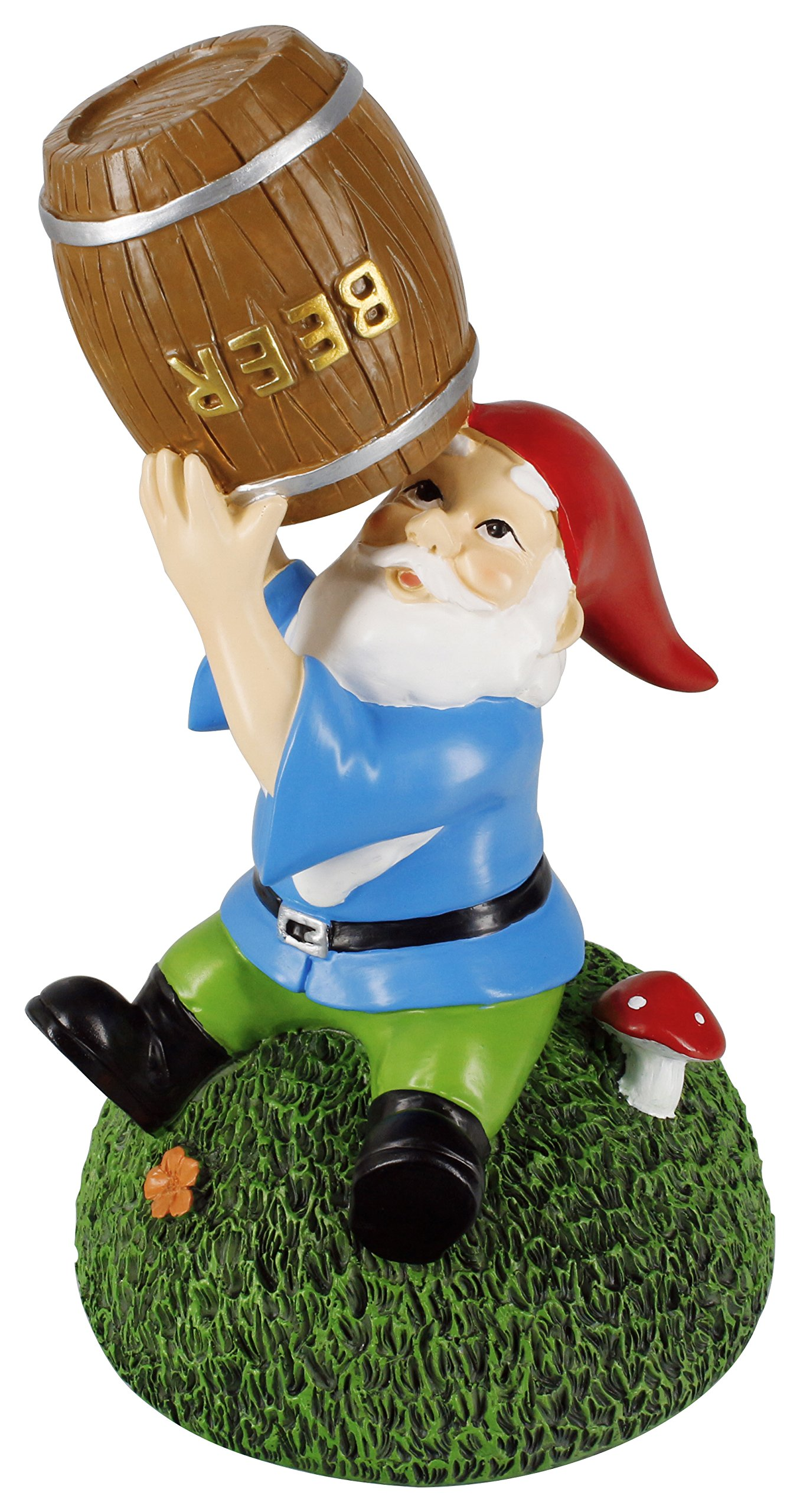 Gnometastic Beer Guzzling Garden Gnome by Gnometastic