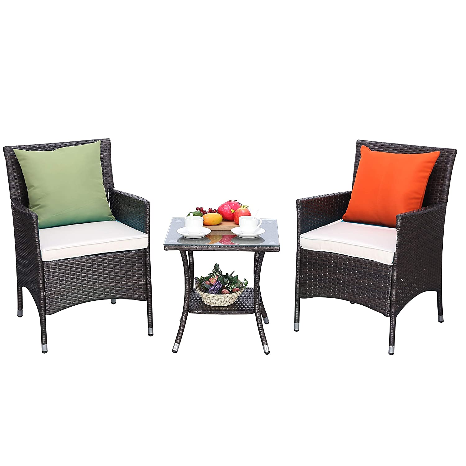 Do4U 3 Pcs Outdoor Patio