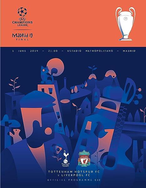 Liverpool FC Programm UEFA CL Finale 2019 Tottenham Hotspur FC