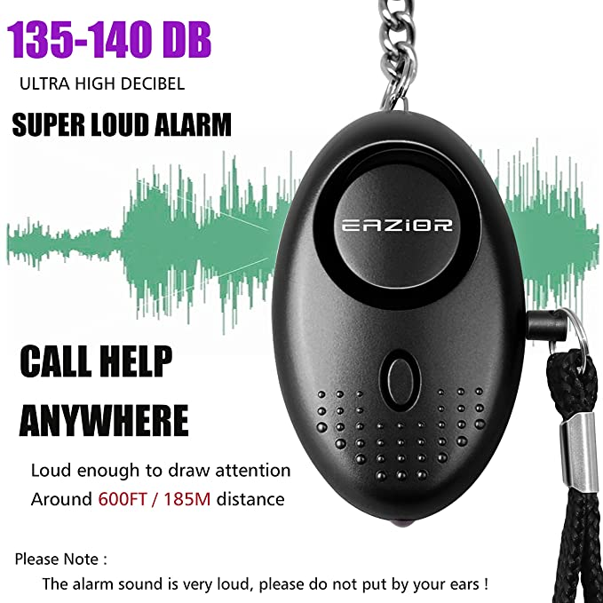 Amazon.com: Alarma Personal, eazior 140dB alarmas defensa ...
