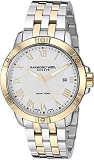 Raymond Weil Mens 8160-STP-00308 Tango Analog Display Quartz Two Tone Watch