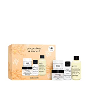 philosophy pure, perfected and renewed 3 piece giftset, 5.5 fl. oz.